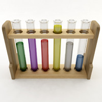 test tube 3d 3ds