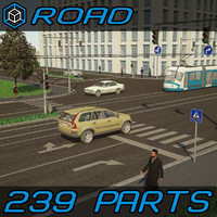 Road Elements Pack