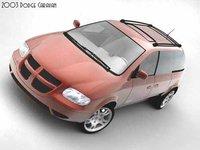 dodge caravan 2003 3d max