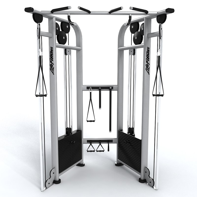 ma gym adjustable pulley dual