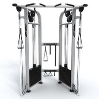 ma gym adjustable pulley dual
