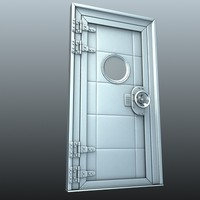 heavy steel doorway door max