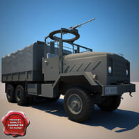 3d m923 a1 cargo truck model