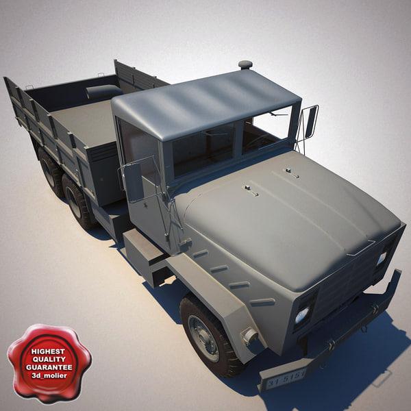m923 a1 cargo truck 3ds