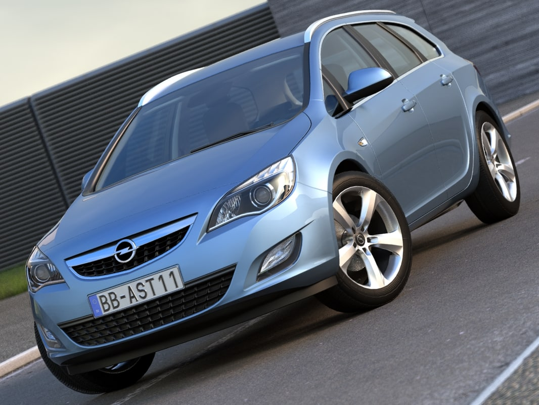 opel astra sports 3d 3ds