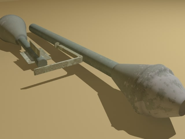 3ds max world war panzerfaust