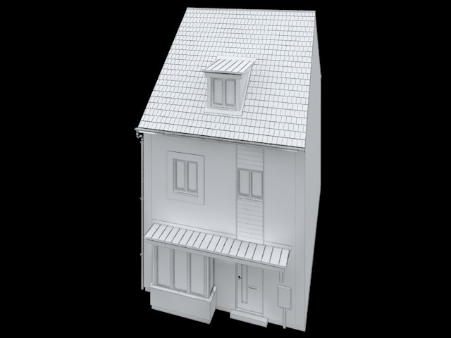 uk residential home 3d 3ds