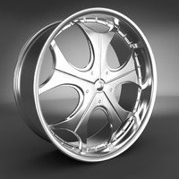 obj alloy wheel