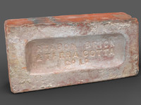 "Brick with Manufacturer""s Stamp"