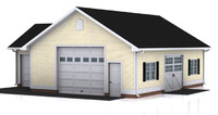 detached garage max