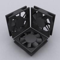 80MM Computer Fan