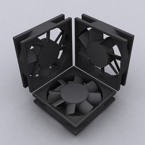 3ds max fan scaled