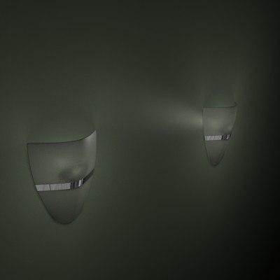 3d lighting fixture walls