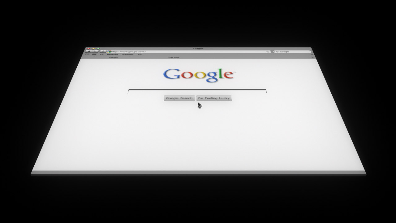 3d web page model