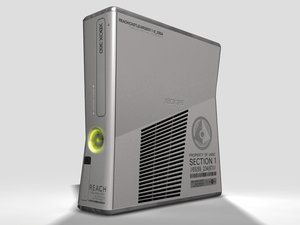 xbox 360 s halo 3d max