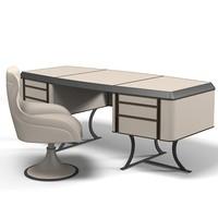 3d baxter modern contemporary model