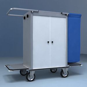 cleaning cart max