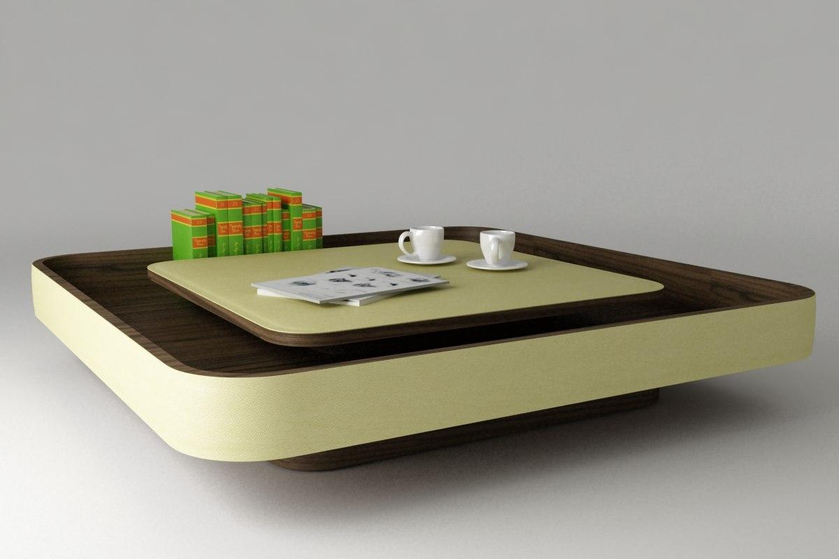 Maya Coffee Table.Coffee Table Poltrona Frau
