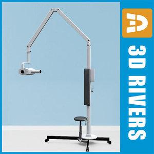 dental x-ray unit 3d 3ds