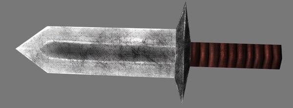 dagger handheld netbooks 3d model