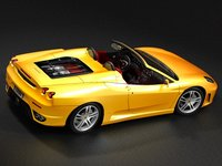 3d model ferrari f430 spider sport