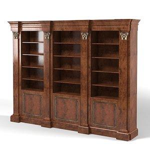 francesco molon bookcase 3d max