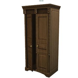 3d model cabinet