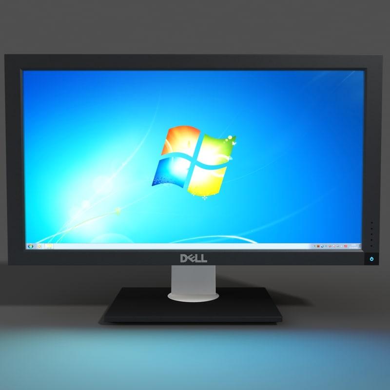 3d dell monitor