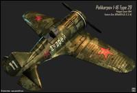 Polikarpov I-16 Type 29(1)