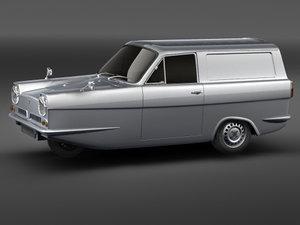 relient regal 1970 3d model