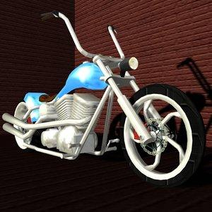 max custom american bobber chopper bike