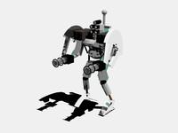 free robot drone 3d model