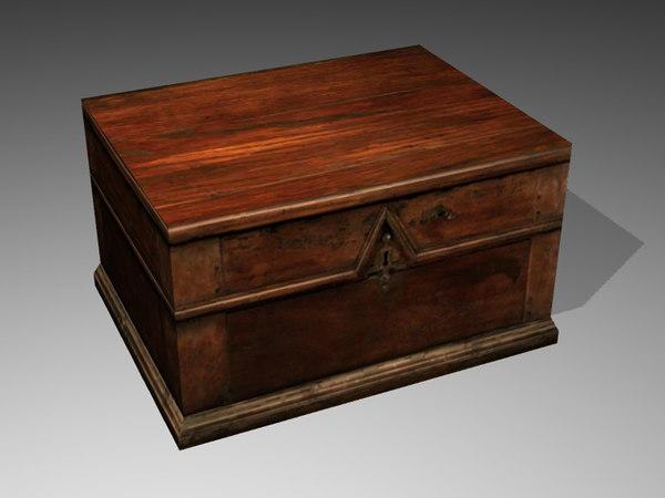 medieval box 3d 3ds