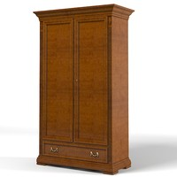 selva 7086 bedroom armoire storage wardrobe cabinet traditional country classic