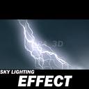 lightning 3D models