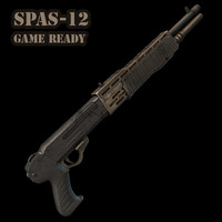 Spas-12 (game art)