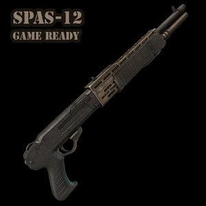 3d model spas 12 art