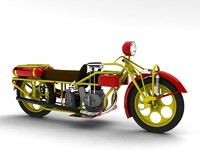3ds 1927 motorcycle