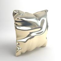 3d model pillow details materials