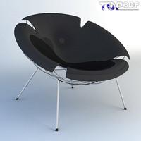 bean armchair 3d max