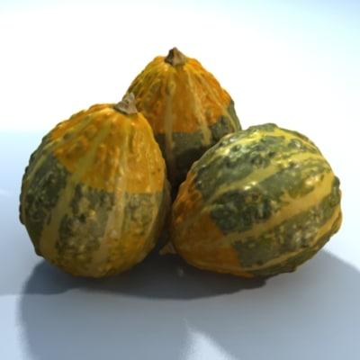3d model gourd scan