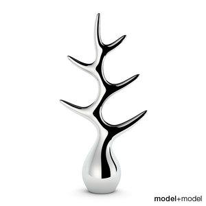 jewelry tree menu 3d model