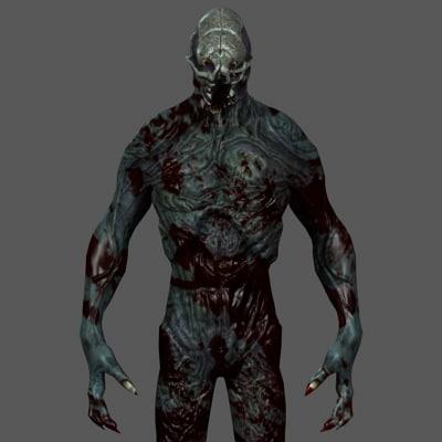 3d model walking dead