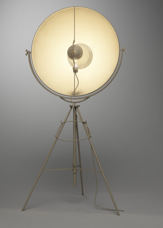 3d mariano fortuny lamp