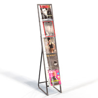 display stand safco 3d model