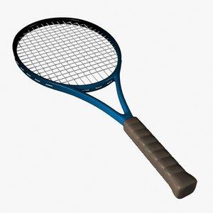 3ds max tennis racket