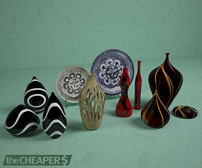 elements decoration 3d model