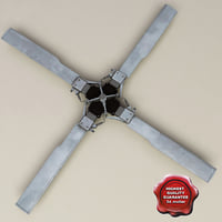 3d helicopter propeller v4