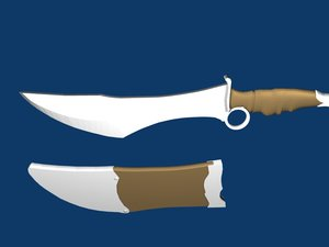 3ds fantasy knife