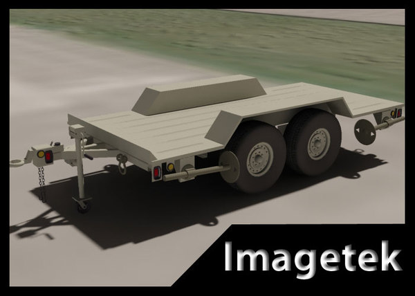 3ds military 5 ton trailer
